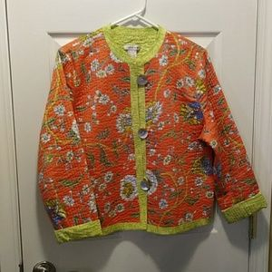 Patty Kim Jacket reversible